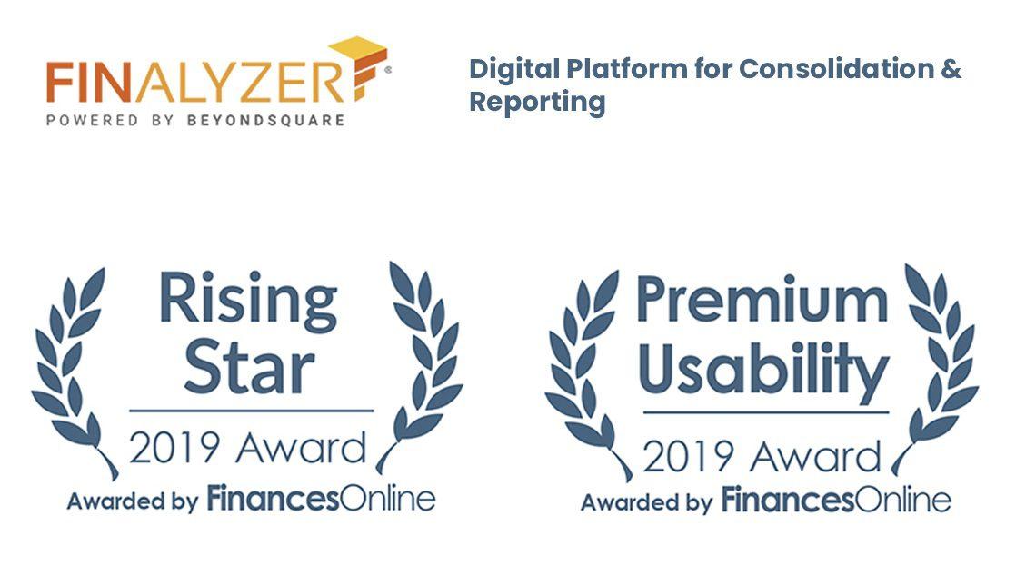 FinAlyzer recognized by FinancesOnline – Rising Star & Premium Usability Award