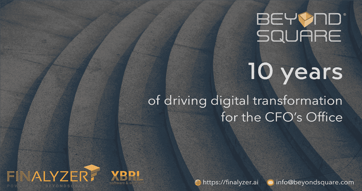 FinAlyzer-10 yrs of driving digital transformation